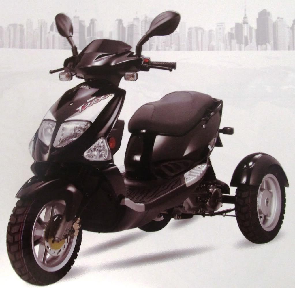 3 tekerlekli motosiklet